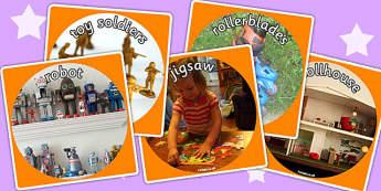 Toys Display Photo Cut Outs - toys, display photos, cutout, photo