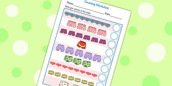 Story Counting Sheet to Support Teaching on Pants - pants, pants story, counting, counting worksheets, counting sheet, themed counting worksheet, themed worksheet, numbers