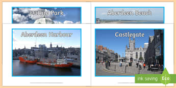 Aberdeen Landmarks Photo Pack - CfE Social Media Requests, people place and environment, Scotland, Scottish cities, Aberdeen, photo