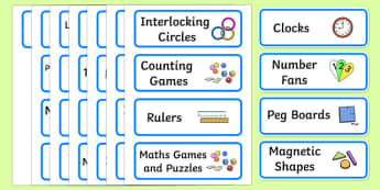 Editable Maths Area Resource Labels (Blue) - Maths resource labels, maths area resources, Label template, Resource Label, Name Labels, Editable Labels, Drawer Labels, KS1 Labels, Foundation Labels, Foundation Stage Labels, Teaching Labels, Resource L