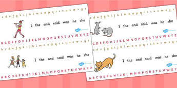The Pied Piper Alphabet Strips - alphabet, strips, pied piper