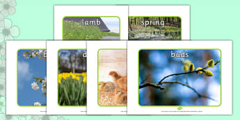 Posters d'affichage : Spring (Le printemps) - Anglais LV