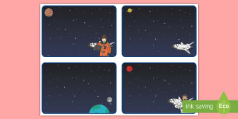Editable Space Themed Template Challenge Cards -  - Editable Challenge Cards Superheroes - editable challenge cards, challenge cards, blank cards, super