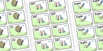Hazel Tree Themed Editable Book Labels - Themed Book label, label, subject labels, exercise book, workbook labels, textbook labels