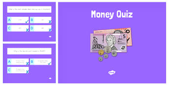 Money Maths PowerPoint Quiz - australia, money, maths, powerpoint