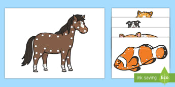 Pet Themed Lacing Cards - pets, pet theme, family pets, class pets, lacing cards, fine motor skills Pet lacing cards
