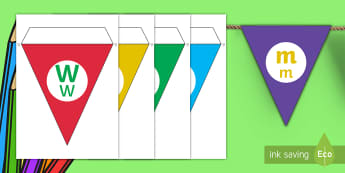 Welcome to Our Class Display Bunting English/Afrikaans - colour, colourful, hang, letters, classroom, new, back to school, EAL