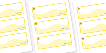 Marigold Themed Editable Drawer-Peg-Name Labels (Colourful) - Themed Classroom Label Templates, Resource Labels, Name Labels, Editable Labels, Drawer Labels, Coat Peg Labels, Peg Label, KS1 Labels, Foundation Labels, Foundation Stage Labels, Teaching