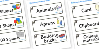 Gorilla Themed Editable Classroom Resource Labels - Themed Label template, Resource Label, Name Labels, Editable Labels, Drawer Labels, KS1 Labels, Foundation Labels, Foundation Stage Labels, Teaching Labels, Resource Labels, Tray Labels, Printable l