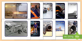 KS1 Bloodhound SSC Project Display Photos - fastest car in the world, land speed world record, supersonic car, STEM, British world record, techn