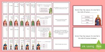 KS4 Macbeth Quotation Quiz Flashcards - GCSE, Macbeth, Quotations, Quote, Quotes, Quiz, Key quotes, Key quotations, KS4