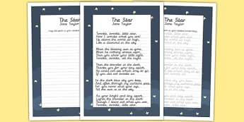 The Star KS2 Handwriting Practice - ks2, handwriting, practice, star