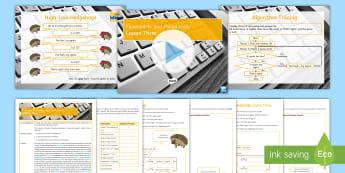 Flowcharts and Pseudocode: Lesson 3 - Algorithms, Flowcharts, Pseudocode, Problem Solving, Programming