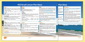 Brazil Lesson Plan Ideas - brazil, lesson plan, plan, ideas