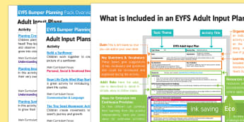 EYFS Plant Life Cycles Bumper Planning Pack Overview - EYFS, Early Years planning, adult led, plant Life Cycles, sunflowers, sunflower, cress, beans, seeds