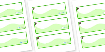 Beaver Themed Editable Drawer-Peg-Name Labels (Colourful) - Themed Classroom Label Templates, Resource Labels, Name Labels, Editable Labels, Drawer Labels, Coat Peg Labels, Peg Label, KS1 Labels, Foundation Labels, Foundation Stage Labels, Teaching L