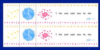 Number and Alphabet Strips (Bonfire / Fireworks Night) - Alphabet, Numbers, Learning letters, Writing aid, Writing Area, Counting, Numberline, Number line, Counting on, Counting back, Guy, Autumn, A4, display, firework, bang, crackle, woosh, rocket,