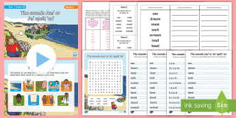 Year 1 Term 1B Week 5 Spelling Pack - Spelling Lists, Word Lists, Autumn Term, List Pack, SPaG