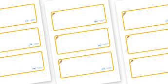 Dormouse Themed Editable Drawer-Peg-Name Labels (Blank) - Themed Classroom Label Templates, Resource Labels, Name Labels, Editable Labels, Drawer Labels, Coat Peg Labels, Peg Label, KS1 Labels, Foundation Labels, Foundation Stage Labels, Teaching Lab
