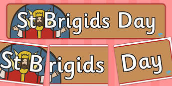 St Brigids Day Display Banner - display, banner, st brigids, day