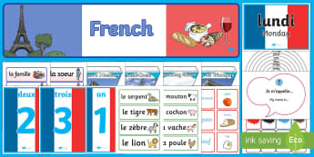 French Language Basics Resource Pack - Language, French, Learn, Life Long Learning, Refresher, Ideas, Elderly Care, Care Homes, Support, Ac