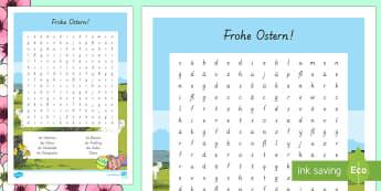 Ostern Suchsel - Ostern, Frühling, Suchsel ,German