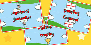 Football World Cup Table Signs - football, sign, labels, sports