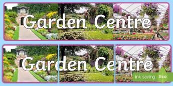 Garden Centre Photo Display Banner - garden centre, photo display banner, photo banner, display banner, banner, display banner for display, display photos