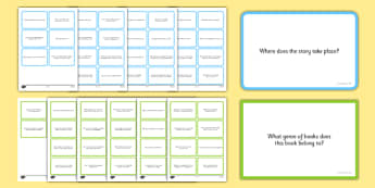 2014 National Curriculum Reading Prompt Question Cards KS2 - prompt, cards