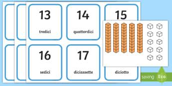 Valore Posizionale con i decimali Attività - valore, posizionale, decimali, unita. decine, regoli, italiano, italian, matematica, contare, numero