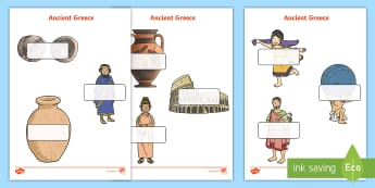 Editable Self Registration Labels (Ancient Greece) - Self registration, register,  editable, labels, registration, child name label, printable labels, an
