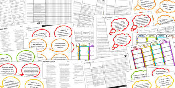 2014 Curriculum Lower KS2 Maths Assessment Pack - numeracy, target