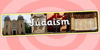 Judaism Photo Display Banner - judaism, photo display banner, photo banner, display banner, banner,  banner for display, display photo, display, pictures, judiasm