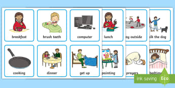 KS1 Visual Timetable - Visual Timetable, SEN, Daily Timetable, School Day, Daily Activities, KS1, Daily Routine, Foundation Stage