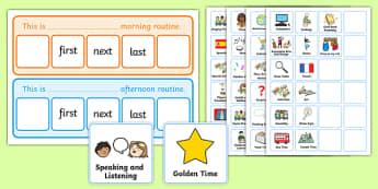 Classroom When Routine Activity - classroom, routine, activity