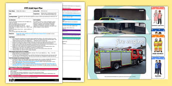 Who Are You? EYFS Adult Input Plan and Resource Pack - fire fighters, doctors, nurses, paramedics, police officer, dentist, vet, optician, lollipop person, life guards, teachers, postal workers, mountain rescuers, milk delivers mechanics,  lunchtime