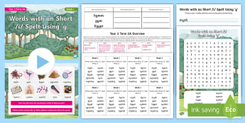 Year 3 Term 2A Week 1 Spelling Pack - Spelling Lists, Word Lists, Spring Term, List Pack, SPaG