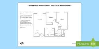 Planning a garage using scale measurements Activity Sheet - Design it, Build it, garage, house, worksheet, plan, measurement, scale drawing, units, activity.