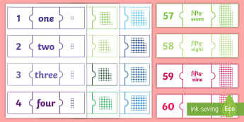 Number Jigsaws 1 100 Activity - Number Jigsaws 1-100 Activity - number jigsaws, number, jigsaws, 1-100, numeracy, numracy, number wo