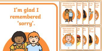Social Situation (Feeling Angry) - Behaviour management, self-awareness, self-calming, Autism, PSHE, SEN, social situations, social skills, story stories