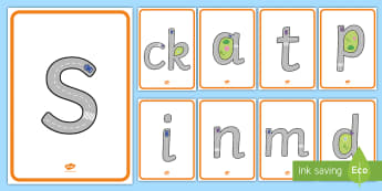 Road Themed Phase 2 Sounds Display Posters -  road, themed, letter formation, theme, letter, formation,handwriting,letterformation,letter foramti