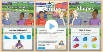 Year 3 Shape Maths Mastery PowerPoint Resource Pack - Reasoning, Greater Depth, Abstract, Problem Solving, Explanation