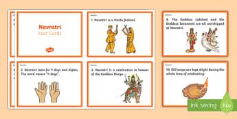 Navratri Fact Cards