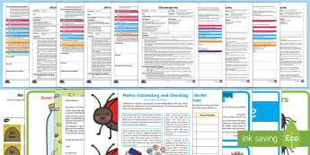 EYFS Maths: Estimates How Many Objects... Adult Input Planning and Resource Pack - EYFS, Early Years Planning, Foundation, Adult Led, Topic Plan, Maths, Mathematics, 40-60, Estimates,