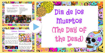 Mexican day of the Dead Information PowerPoint - ESL Day of the Dead PowerPoint