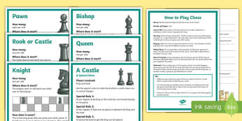 Chess Club Resource Pack