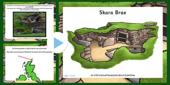 Skara Brae Stone Age Information PowerPoint - skara brae, history