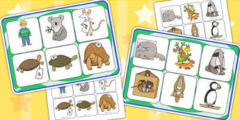 Matching Mat SEN to Support Teaching on The Great Pet Sale - pets, animals, matching mat