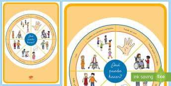 Rueda de acciones - emociones, educación emocional, inteligencia emocional, problemas de comportamiento, autoestima, au