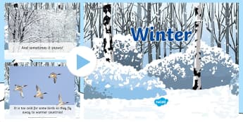 Winter Information PowerPoint - powerpoint, winter, snow, fact, information
